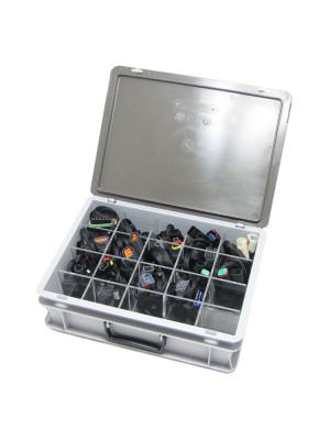 Storage case including inlay 300