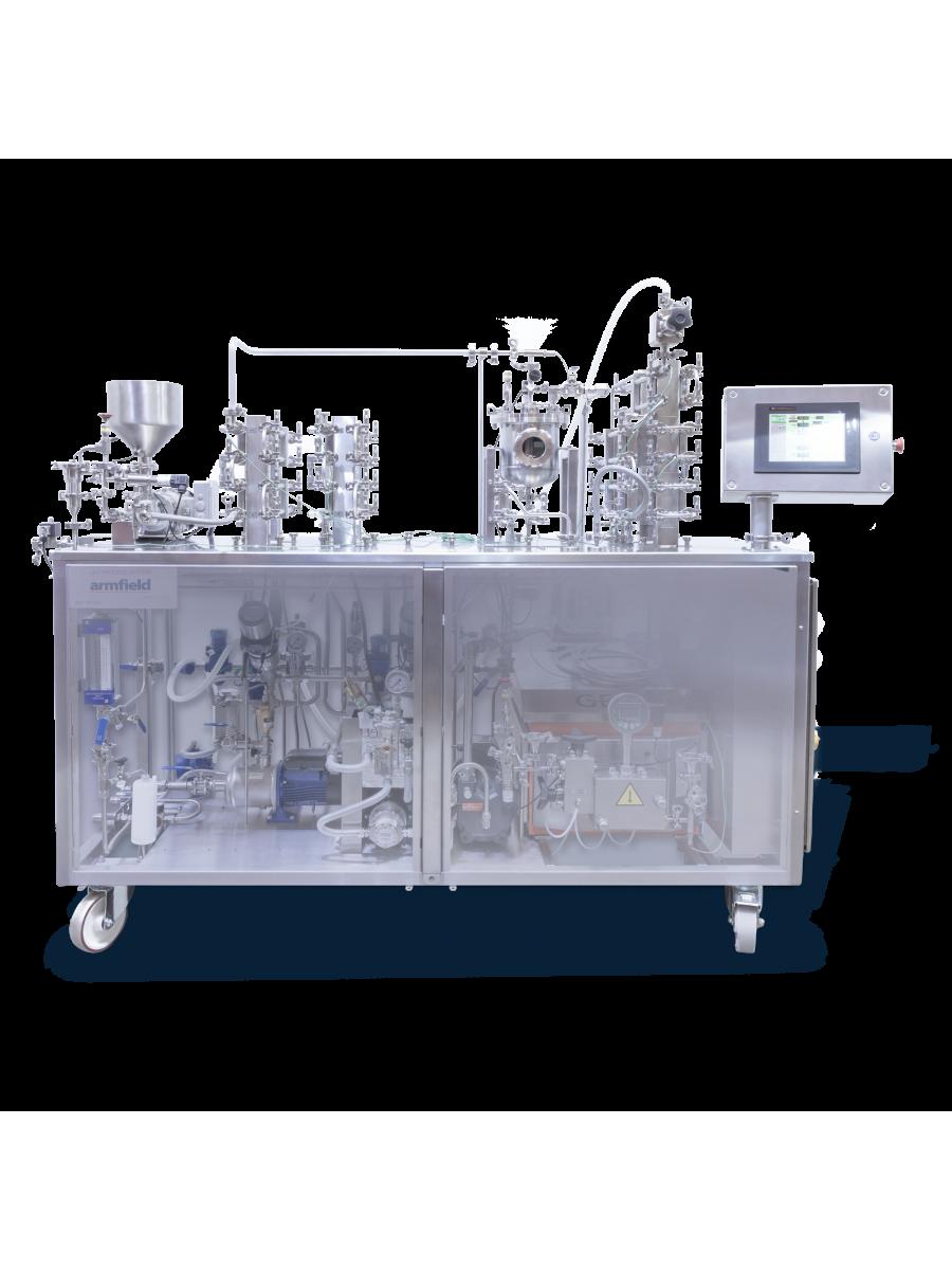 Modular Miniature Scale HTST/UHT Process System