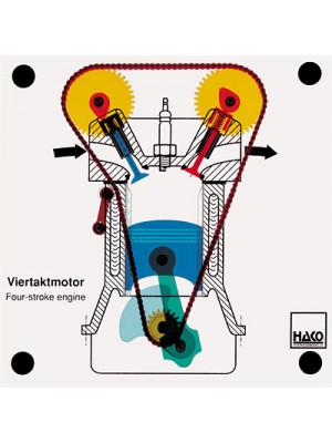 Four stroke engine