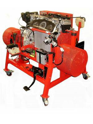 Automatikgetriebe, Antriebswellen und Achsen, gebremst