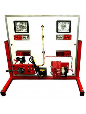 Auto Lighting System Board including alternator