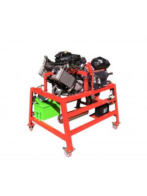 2/4-Zylinder-Motorrad-Motor mit Benzineinspritzung